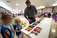Girls Scouts Pinewood Derby